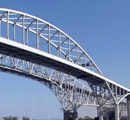 Structural Steel Contractor Texas - Midwest Steel - a-bluewater-bridge