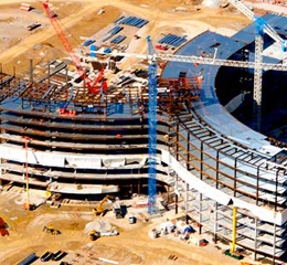 Structural Steel Design Texas - Midwest Steel - a-owensboro-hospital
