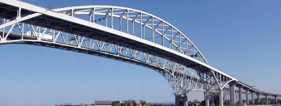Blue Water Bridge - Canadian Side - Midwest Steel - blue_water_brider