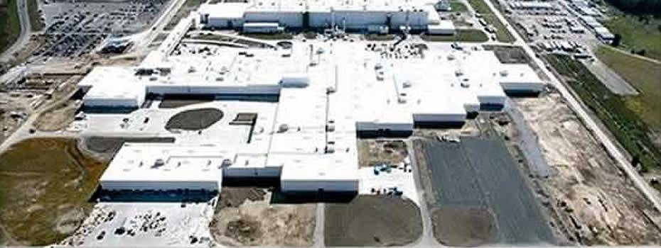 Toyota Automotive Paintshops - Midwest Steel - general_motors_lansing_delta_paint_plant