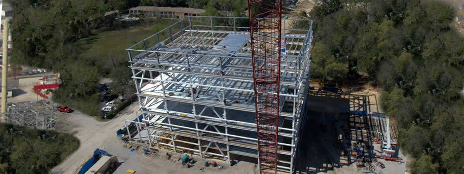 Duke Energy Gasification Facility Steel Fabrication - Midwest Steel - Shands-Energy-Center