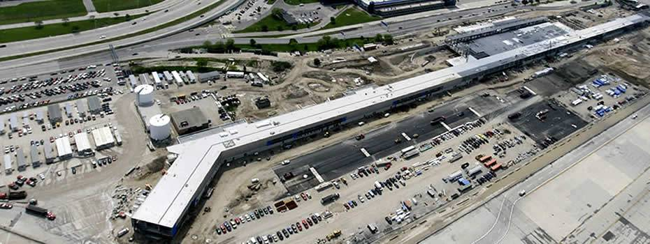 Detroit Metropolitan Airport North Terminal Expansion - Midwest Steel