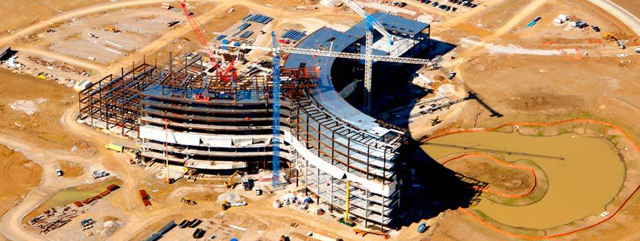Owensboro Medical Health System - Midwest Steel - owensboro-structural-steel-aerial2