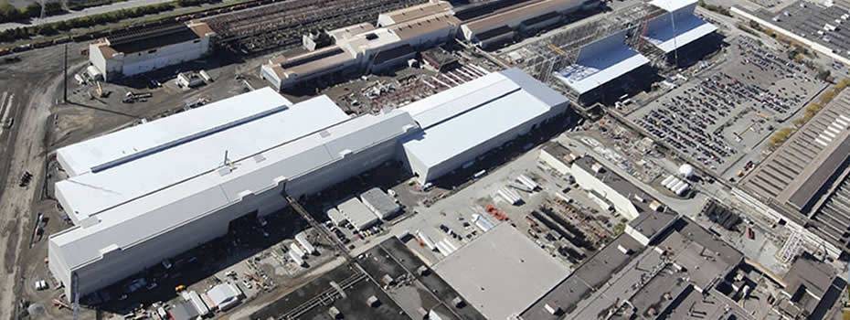 Ford Dearborn Stamping Plant - Roof Jacking - Midwest Steel - severstal_north_america_25_year_relationship
