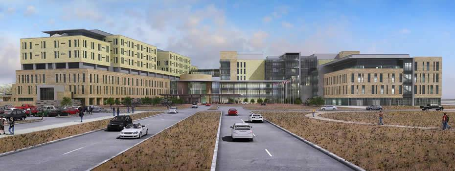 Northwestern Memorial Hospital - Outpatient Care Pavilion - Midwest Steel - william_beaumont_army_medical_cetner